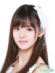 Jiang Shan SNH48 Oct 2016