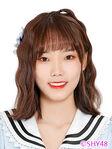 Zhang JinYu SHY48 Oct 2018