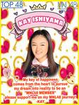 1stGE MNL48 Kaede Ishiyama