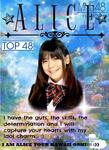 1stGE MNL48 Alice Margarita De Leon