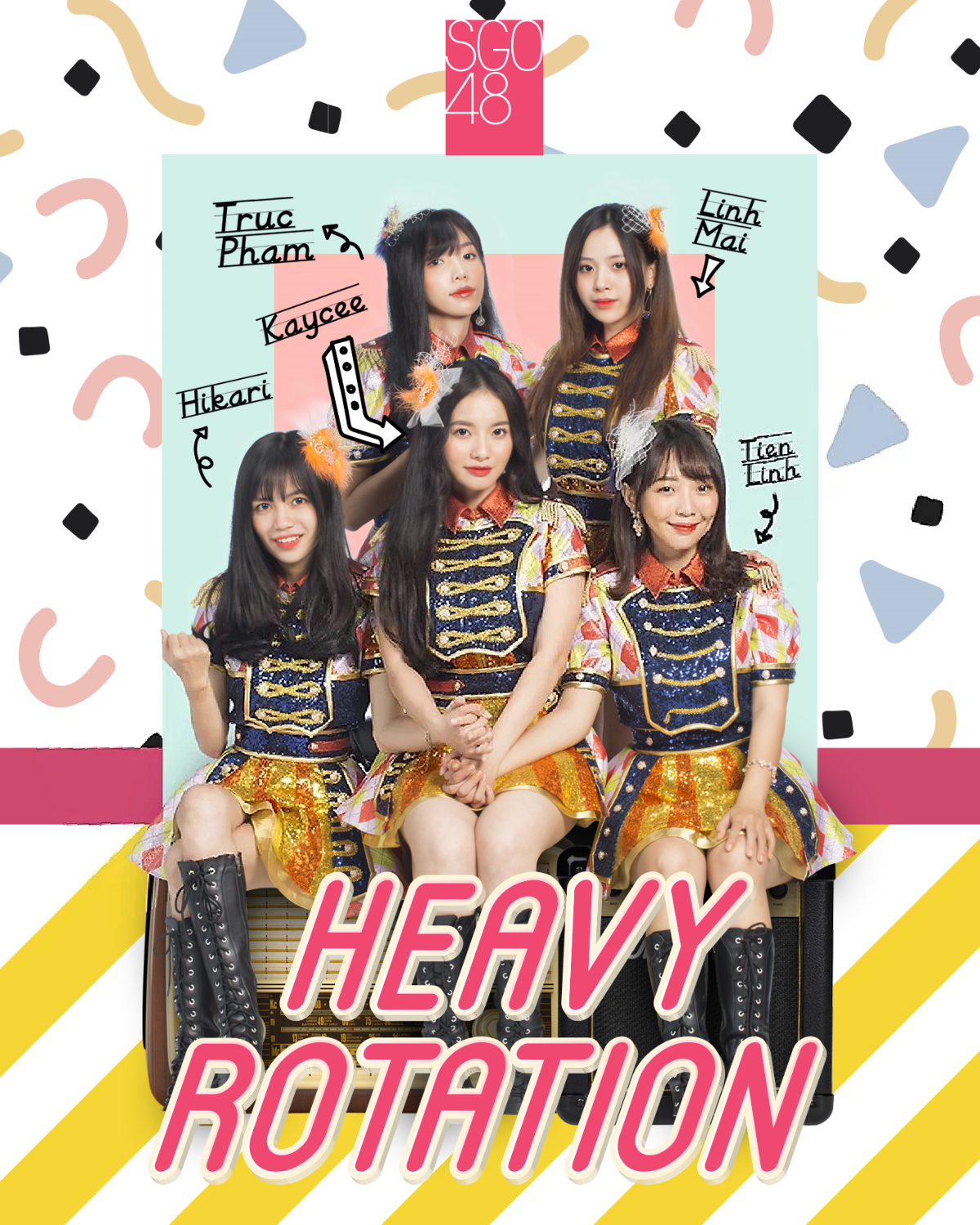 Heavy Rotation (SGO48 Single)