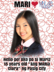 1stGE MNL48 Mariz Iyog