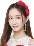 Zhang Yi SNH48 Oct 2018