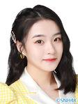 Bian ChuXian SNH48 Oct 2020