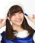 Suda Akari SKE48 Christmas 2015