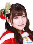 Sun XinWen SNH48 Dec 2015