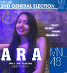 2ndGE MNL48 Karla Jane Tolentino