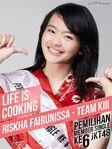 2014 SSK JKT48 Riskha