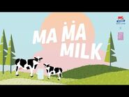 【Lyrics Video】Ma Ma Milk - BNK48 X Milk Land