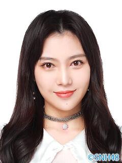 Liu ChenXue SNH48 Nov 2020.jpg