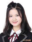 Hao JingYi CKG48 Oct 2017