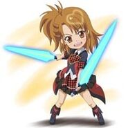 Chibi YUUKO FIGHT!