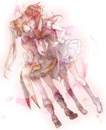 Kanata x Takamina kiss