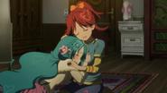 Chieri Kanata hug