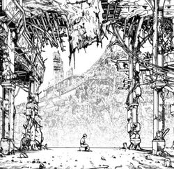A Lonely Tetsuo in a Large Courtyard .jpg