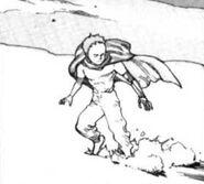 Tetsuo Landing on The Moon
