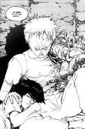 Tetsuo and a Sleeping Kaori