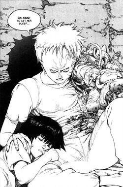 Tetsuo and a Sleeping Kaori.jpg