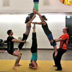 Akrobatik-Gruppe Frankfurt