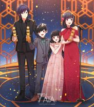 7th Anime Trending Awards - Anime of the Year Winner Illustration by Hakamii