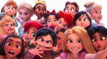 Princesses takes wefie-2