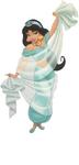 Jasmine with sash