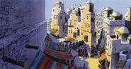 Agrabah street concept art
