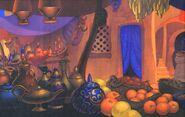 Bazaar background 2