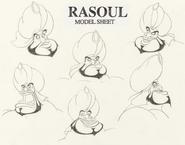 Rasoul model sheet