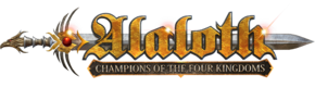 Alaloth Champions of the Four Kingdoms logo.png