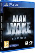 Alan Wake Remastered PS4 Box Art