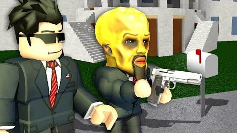 As Bloxburg president, I forced people to follow MY RULES