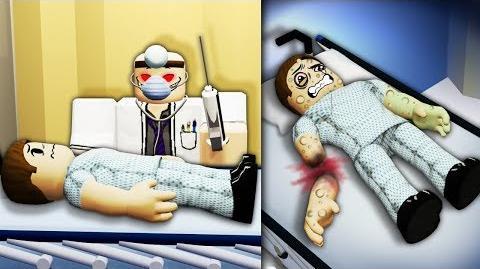 I made my own ROBLOX Hospital... it was disturbing