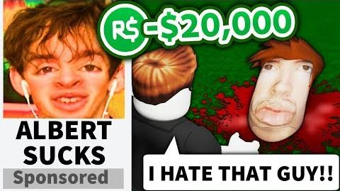I made a Roblox FLAMINGO HATE GAME... and advertised it