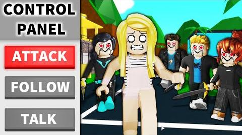 I put BOTS in a Roblox game and made them ATTACK...
