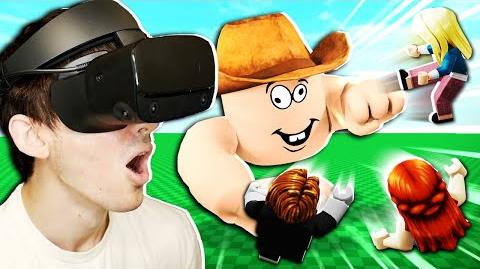 I played ROBLOX in VR