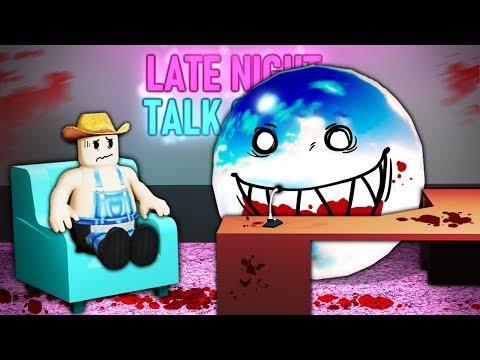 I went on Roblox's disturbing talk show...