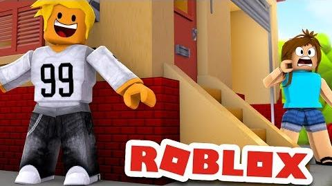 HIDING FROM PEOPLE IN ROBLOX