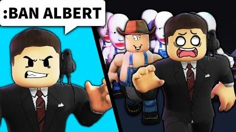 He banned me from his Roblox game... SO WE RAIDED IT WITH 200 PEOPLE