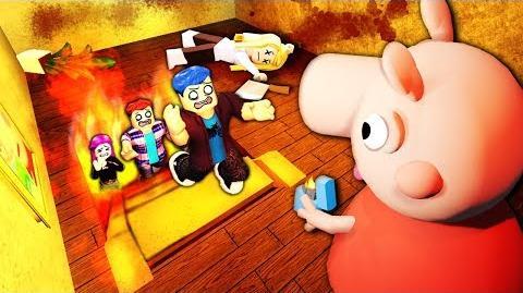 I played as Roblox PIGGY...