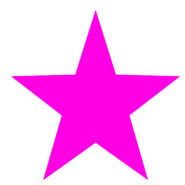 Pink-star-template