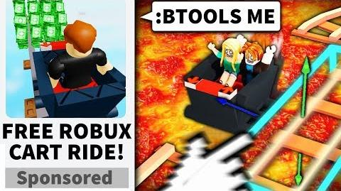 I made a Roblox CART RIDE game... and used ADMIN to mess them up