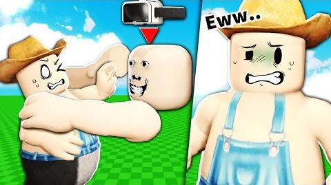 A Roblox VR player tried to kiss me...
