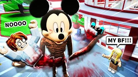 I became Roblox mickey mouse