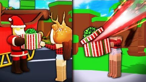 I used ROBLOX ADMIN to become SANTA to kill people...