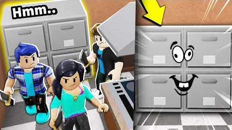 I dressed up as a Roblox CABINET... and no one could find me