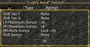 Lugh's Hand details
