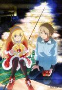 Aldnoah Zero, Animedia - December 2014 Issue
