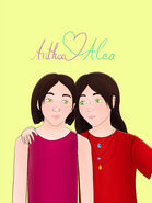 Alea Anthea Fanart 28.10.2020