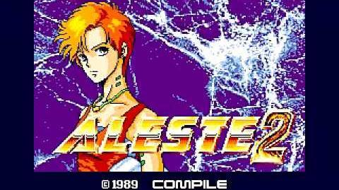 MSX - Aleste 2 (1989) - Intro-1442347777